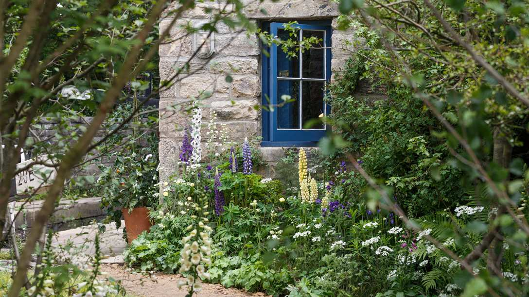 Gold medal winner The Welcome to Yorkshire Garden