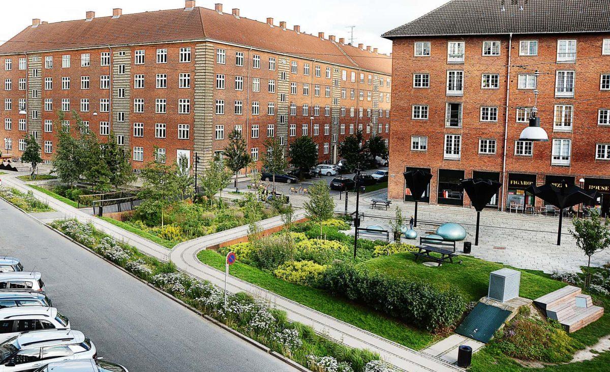 Taasinge Plads źródło fot. http://klimakvarter.dk
